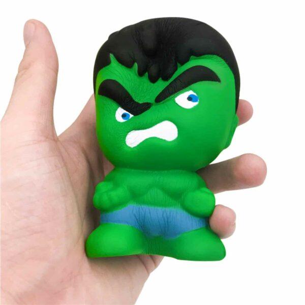 Squishy Hulk écrasé