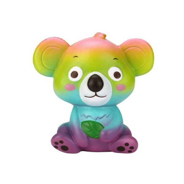squishy koala multicolore