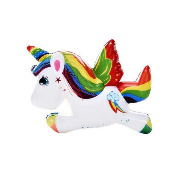 Squishy licorne volante