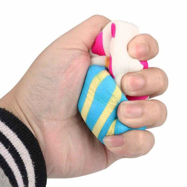 Squishy lollipop écrasé