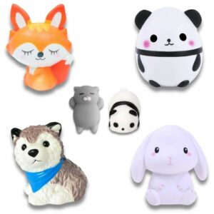 lot de squishy animaux