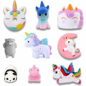 squishy lot licorne enchantée