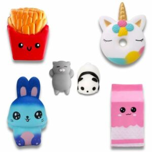 lot de squishy mixte