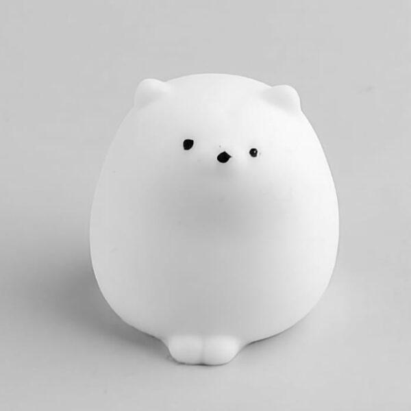 squishy mochi chat fluffy vu de face