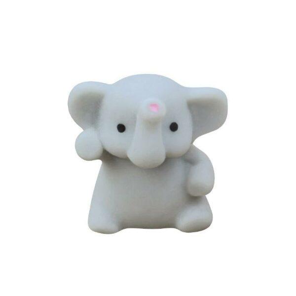 squishy mochi éléphant gris
