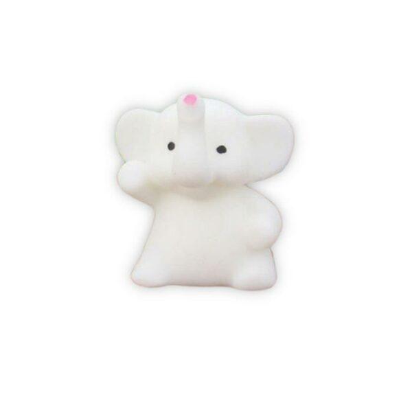 squishy mochi éléphant blanc