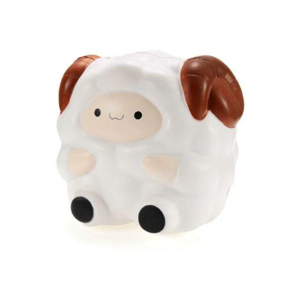 Squishy mouton vu de profil