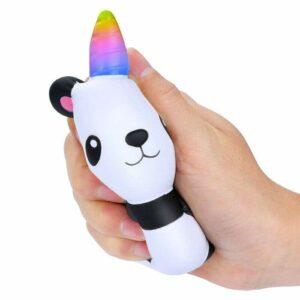 squishy panda fête écrasé