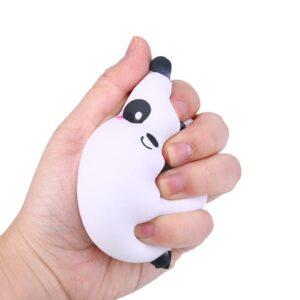 squishy panda rond écrasé