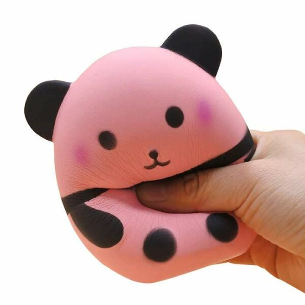 squishy panda rose écrasé