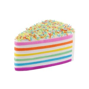 squishy gateau arc en ciel