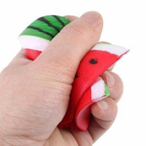 squishy pastèque écrasé