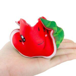 squishy pastèque kawaii écrasé