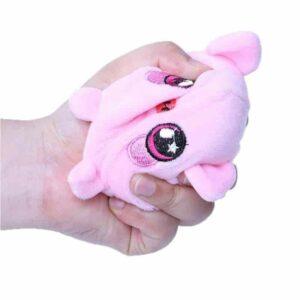 Squeezamals cochon dans la main
