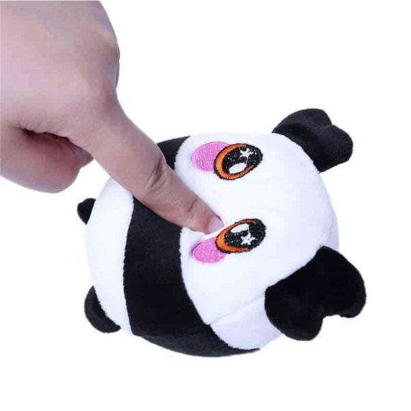Squeezamals panda écrasé