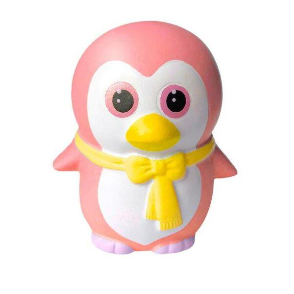 squishy pingouin kawaii rose
