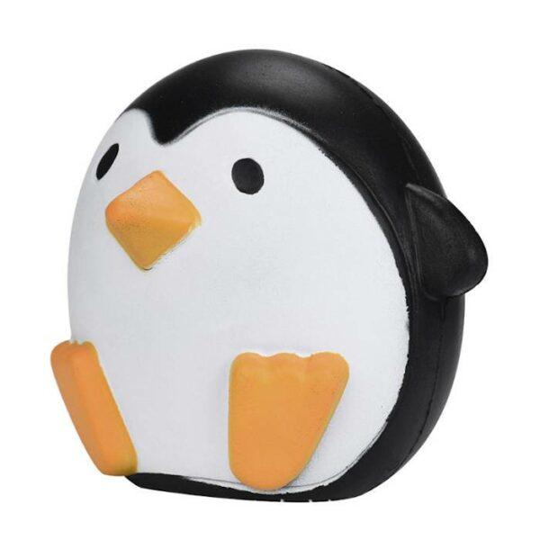 squishy pingouin rond vu de profil