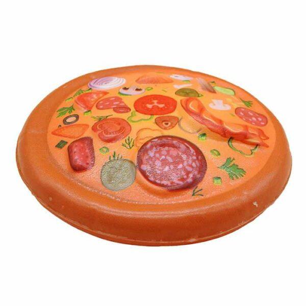 squishy pizza kawaii orange