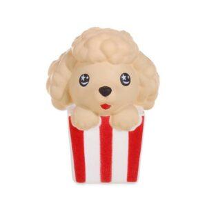 Squishy popcorn chien