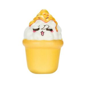 squishy pot de glace jaune