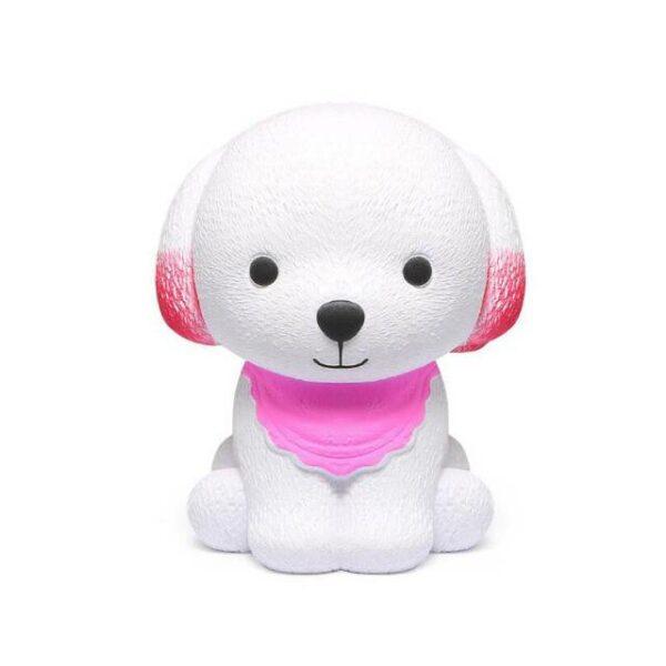 squishy chien rose