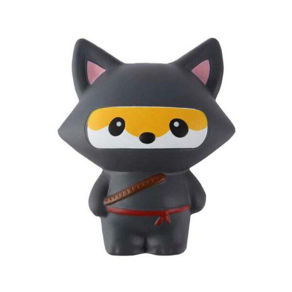 squishy renard ninja noir