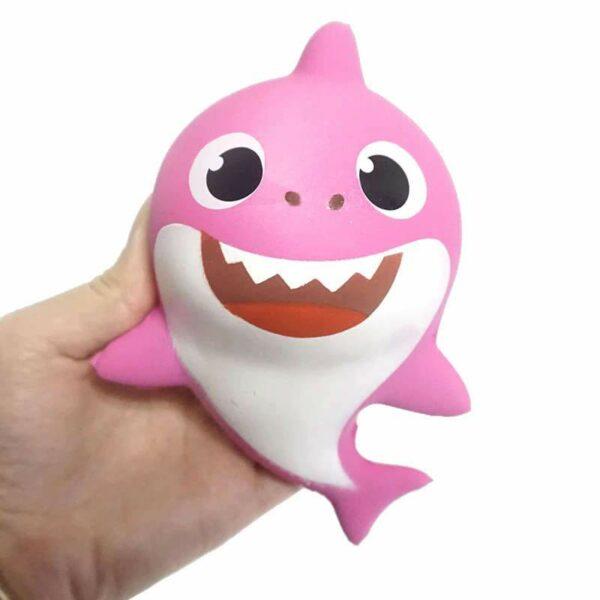 squishy requin rose