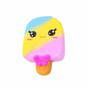 squishy glace multicolore
