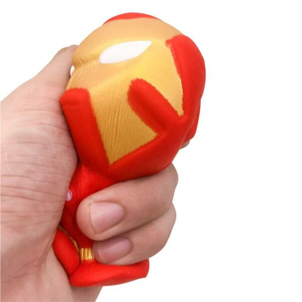 Squishy Iron Man pressé