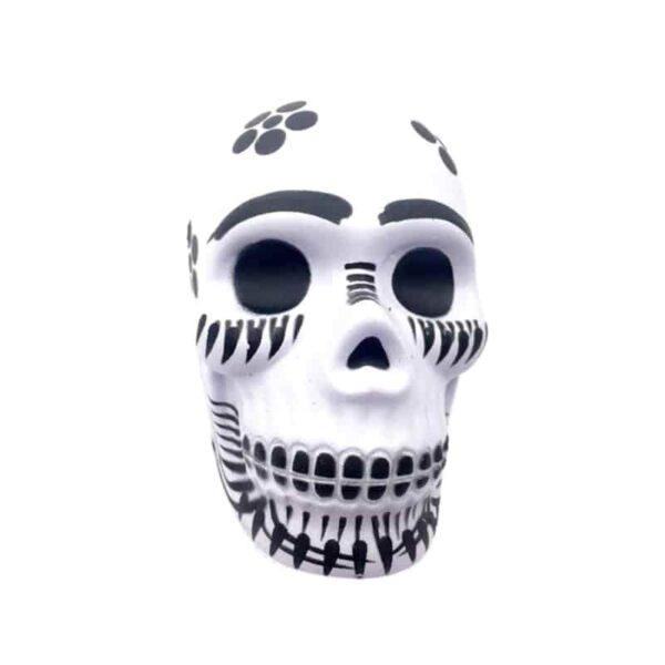 squishy tête de mort blanc