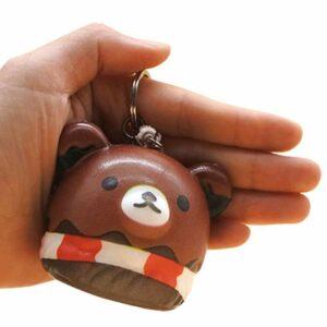squishy tete ours dans la main