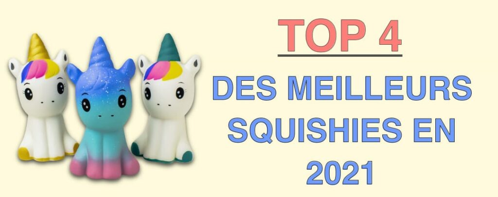 top 4 squishies en 2021