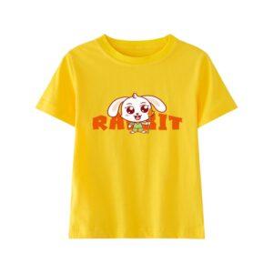 t-shirt kawaii lapin jaune