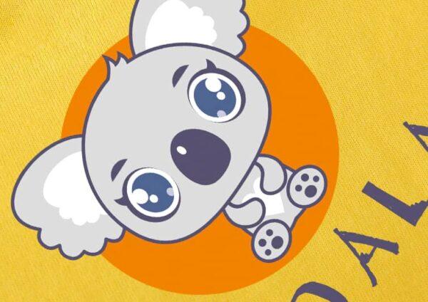 t shirt koala motif