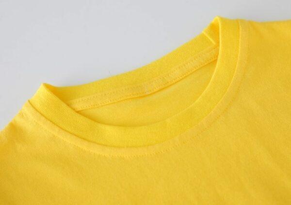t-shirt kawaii encolure