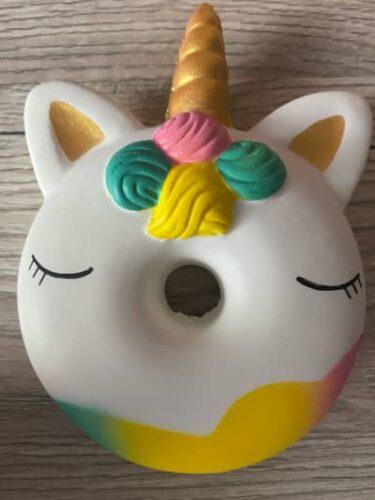 Squishy Donut Licorne photo review